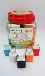 Adaptor Charger 2A - Batok Cas 2A - Charger 2 Usb
