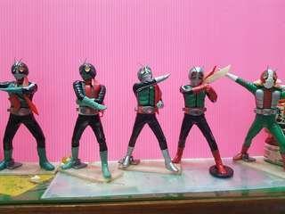 🚚 (盒玩) 假 面 騎 士 系 列 - 1