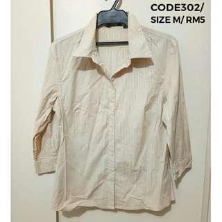 🌟SALE🌟 Collar LS Tee #302