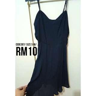🌟SALE🌟Dark Blue Dress #307 #jan55