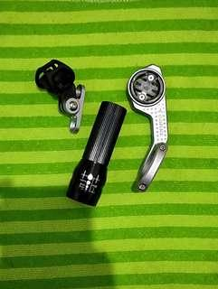 Alloy Out Frout Mount For Garmin