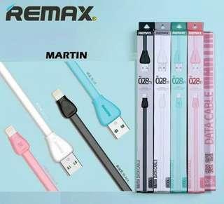 Kabel Data Remax Martin - Kabel Cas Remax - Fast Charging
