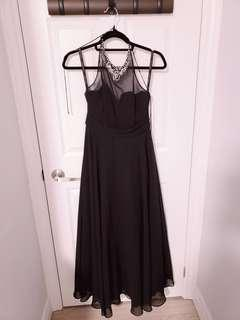 Black Gown Size 2