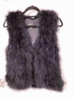 Club Monaco Feather Vest XS