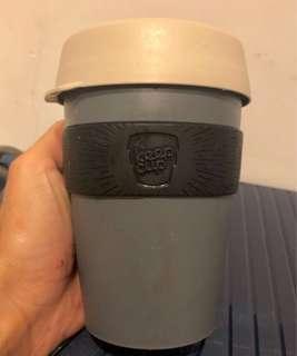 Keep cup- grey/black 12oz