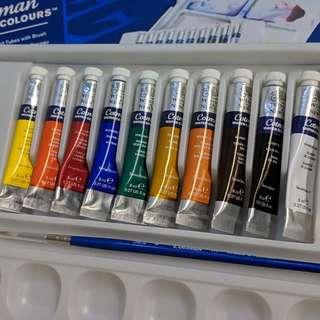 Winsor & Newton Artists Professional Watercolour 14ml X 4 Unused Art Supplies