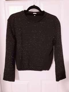 Wilfred Heather Black Sweater M