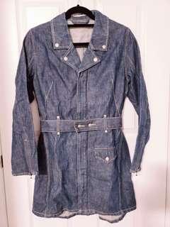 Levi's Trench Jacket Denim Size XS / S