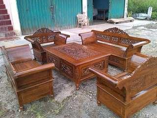 Chair teak wood