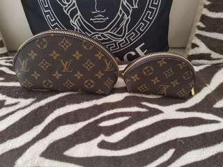 Loui vuitton Clutch Bag make up Bag x2
