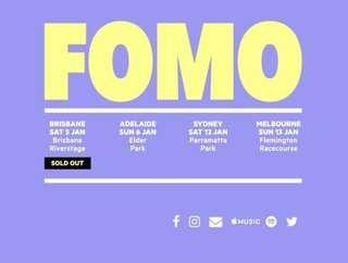 1x FOMO ticket