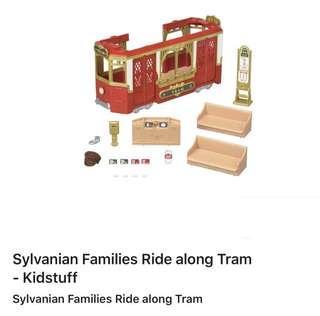 sylvanian families tram 💯 authentic 👍