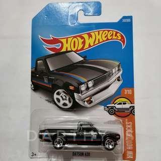 Hot Wheels Datsun 620 matt black