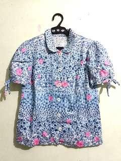 Short sleeve  Blouse (S)