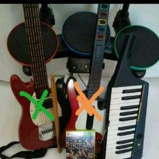 XBOX360 ROCK BAND 3 Music Intrument Set