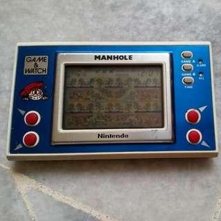 Rare Game And Watch Man Hole Nintendo