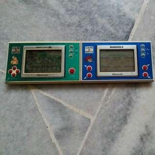 Combo Nintendo Game And Watch