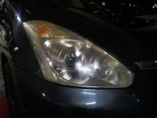 2006 toyota wish headlight