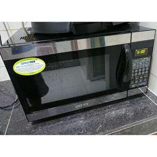 Green Tech High Amp Convection Microwave Oven