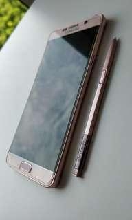 Samsung Galaxy Note 5 (Pink Gold)