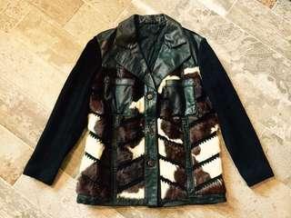 古著皮褸 Vintage leather jacket