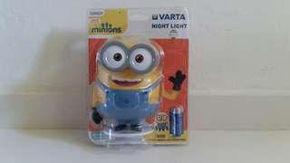 Minions Varta Night Light Lamp Authentic Item