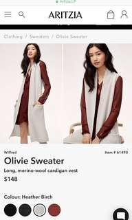 Aritzia Wilfred 'Olivie Sweater'