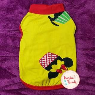 Mickey Mouse Dog Shirt