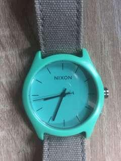 Nixon Canvas Strap Mod Acetate Light Blue/Grey