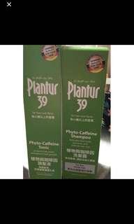 Plantur 39洗頭水+頭髮液一套