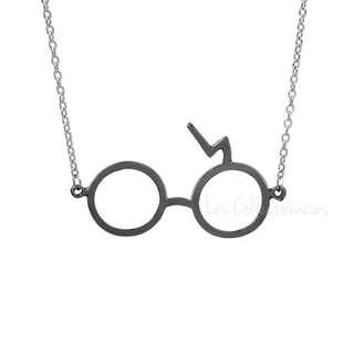 Harry Potter Lord Voldemort Horcrux Scar Necklace Glasses Necklaces Voldemort Horcruxes