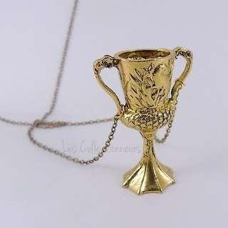 Harry Potter Lord Voldemort Horcrux Hufflepuff Cup Necklace Voldemort Horcruxes