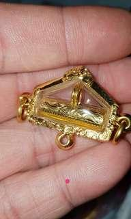 AC Nong takrut Narai solid gold with 90 percent gold case