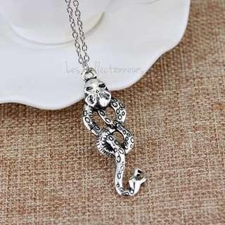 Harry Potter Lord Voldemort Horcrux Nagini Snake Necklace Voldemort Horcruxes