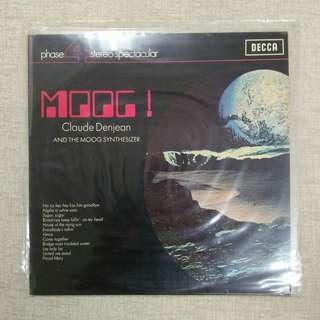 Moog! Claude Denjean & The Moog Synthesizer LP Vinyl Record