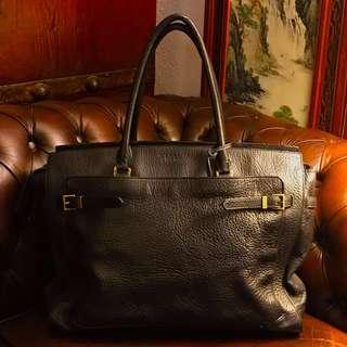 Vintage Authentic Full Leather Coach Bag for Gym or Travelling .