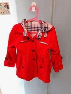 🚚 女童外套(130公分適穿,只下水洗)