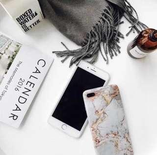 Marble Phone Case iPhone X iPhone 7 8 Plus