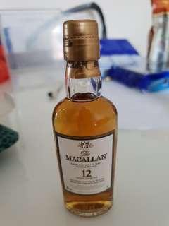 Macallan 12 mini