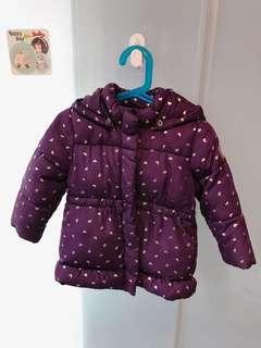 🚚 SPRIT 女童保暖外套(92公分、穿起來很可愛喔!)