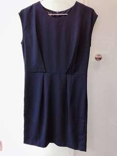 🚚 藍色氣質洋裝(質料好)