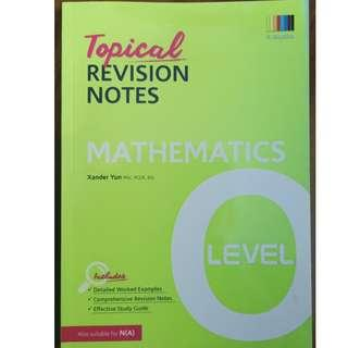 + Brand New O Level Mathematics Topical Revision Notes (Math) for sale