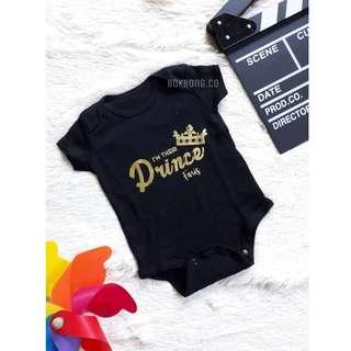 Rompers Baby Printed Name