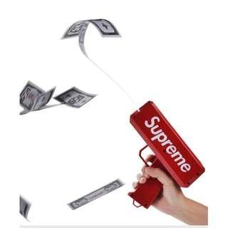 *Instock*SUPREME MONEY GUN! Money cash launcher Canon bills, Make it Rain!