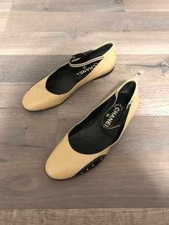 Chanel flats authentic - size 38