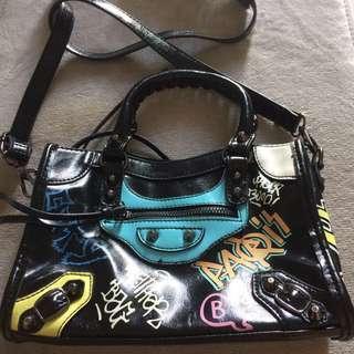 Balenciaga grafity bag