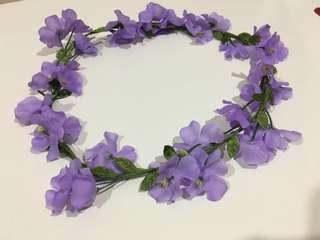 Lovisa Purple Flower Crown