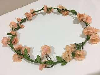 Lovisa Peach Flower Crown