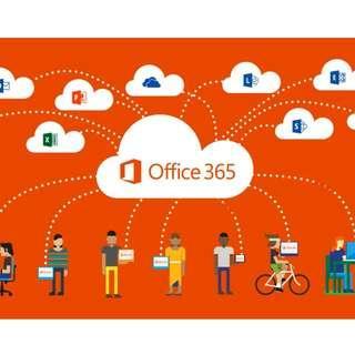 原裝永久訂閱 Office 365 帳號 教育版 連最新 Office 2019 Microsoft 及 OneDrive