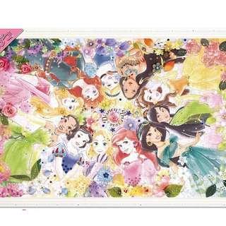 最新款 砌完可貼上閃石迪士尼砌圖 Made in Japan (適合6歲小朋友)